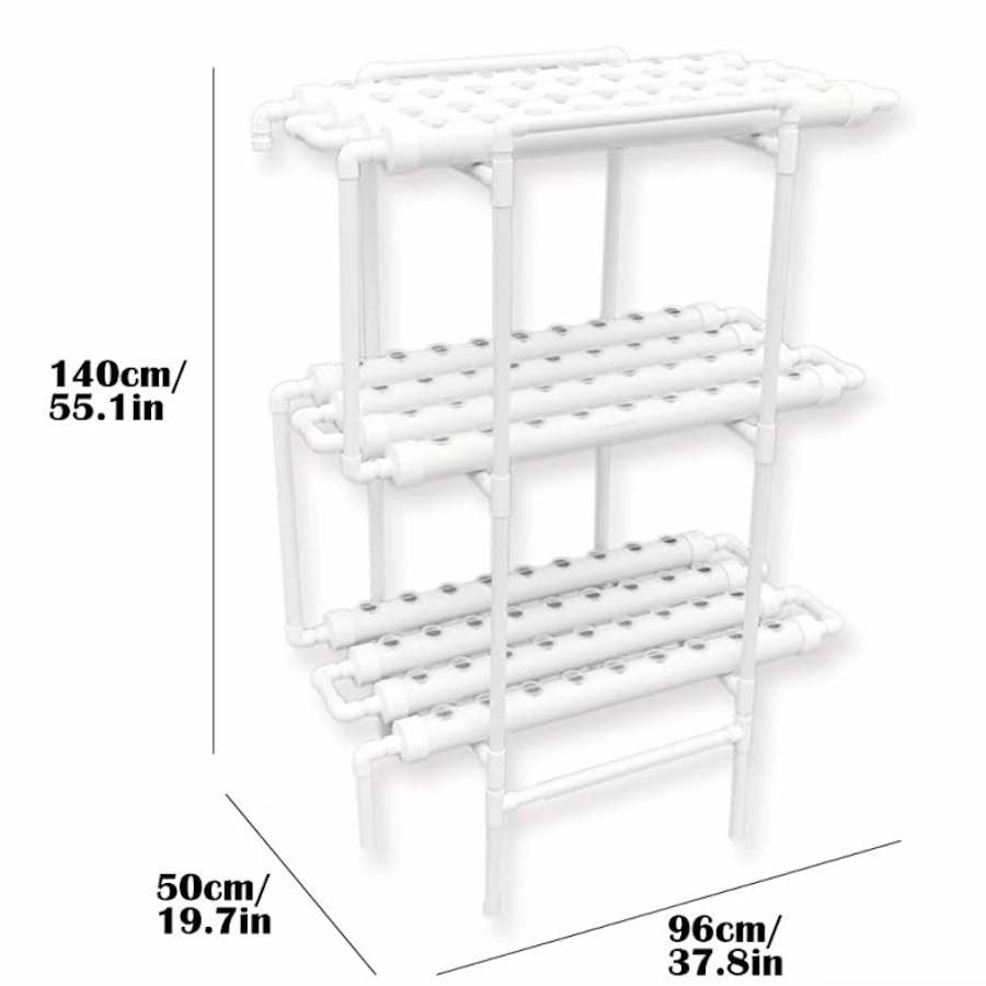 108 home hydroponic kit